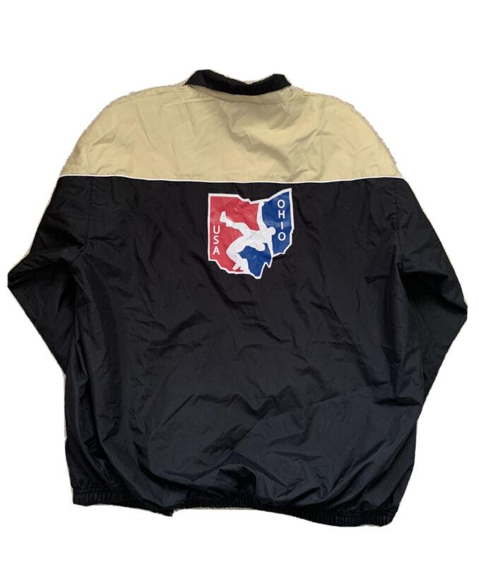 Ohio National Wrestling Team Vintage Jacket, Size Adult Medium, Used