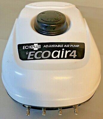 Ecoplus Eco Air 4 Ecoair Adjustable Air Pump Outlets Garden Hydroponic