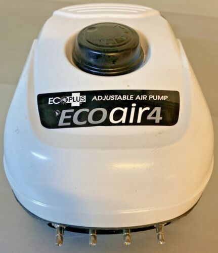 Ecoplus Eco Air 4 Ecoair Adjustable Air Pump Outlets Garden Hydroponic