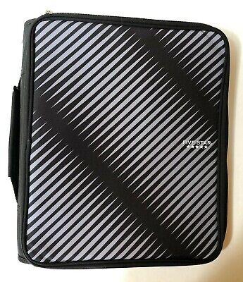 New Five Star 2 Zipper Binder - Multi Access File - Blackgray - School