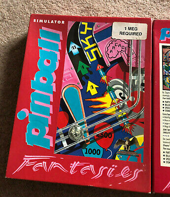 Commodore Amiga Game - Pinball Fantasies -