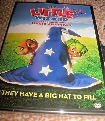 NEW The Little Wizard Guardian of the Magic Crystals DVD They Have a Big Hat