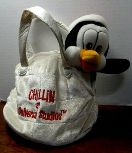 CHILLY WILLY PENGUIN IN IGLOO BAG PLUSH -