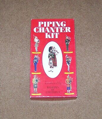 Piping (2) Chanter Kit Bagpipes of Caledonia Beginners Learn to Play Music Book