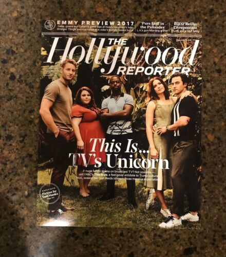 * THIS IS US * signed autographed 11x14 photo * STERLING, MILO & CHRISSY * 1