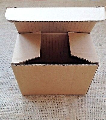 60 Small Cardboard Box Postage Postal Packaging Royal Mail 10 X 5.5 x 7.5 CM ⭐