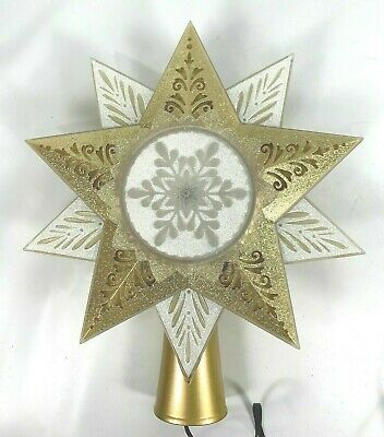 Hallmark Illuminations STARLIGHT TREE TOPPER Christmas 2005