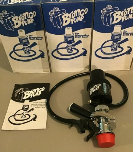 NEW IN BOX 1pc Taprite Beer Keg Tap Picnic/ Party Pump, D coupler - Bronco Pump