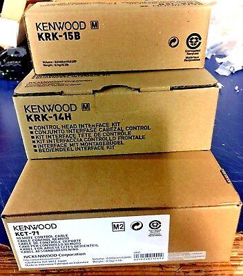 New Kenwood Nx-5700 Nx-5800 Nx-5900 Remote Head Kit Nx5700nx5800nx5900
