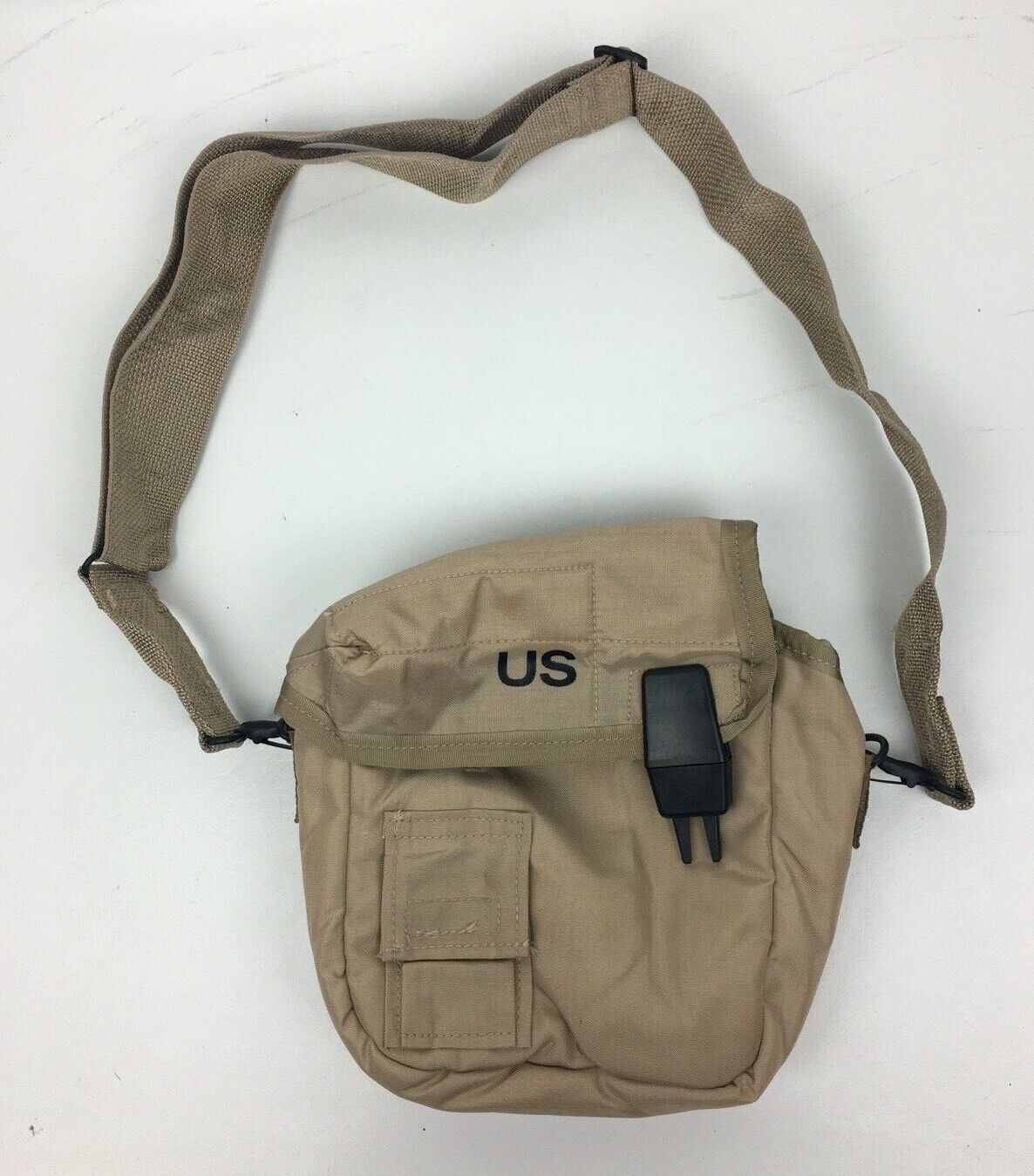 New US Army Military 2 Quart Desert Water Canteen Cover with