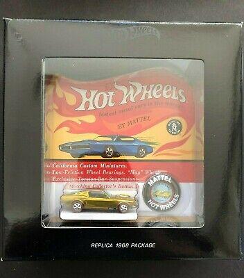 Hot Wheels Original 16 Redline Spectraflame Gold Custom Mustang - 2447/3000