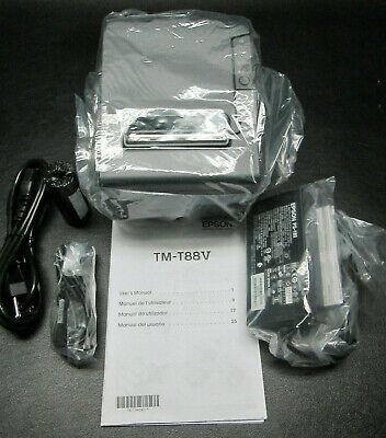 New Epson Tm-t88v M244a Usb Thermal Receipt Printer W Ps-180 Power Supply