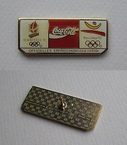 Coca-Cola Offizielles Erfrischungsgetränk Albertville 1992 / Barcelona 1992 Pin - <span itemprop='availableAtOrFrom'>Swietochlowice, Polska</span> - Coca-Cola Offizielles Erfrischungsgetränk Albertville 1992 / Barcelona 1992 Pin - Swietochlowice, Polska