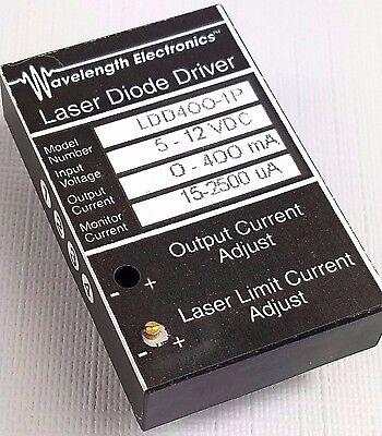 Wavelength Electronics Laser Diode Driver Ldd400-1p 5-12vdc 0-400ma