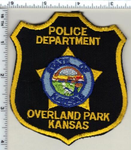 Overland Park Police (Kansas) Shoulder Patch - new from 1997