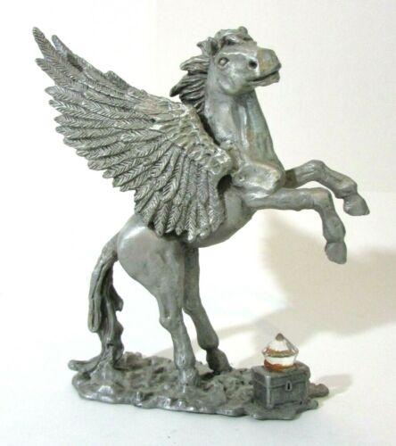 Vintage Pewter Pegasus - Daltec Inc. - 1988 - Designer Collection