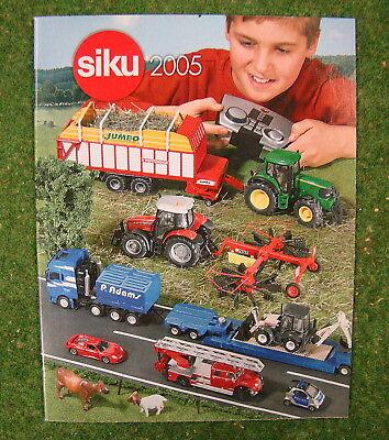 SIKU Gesamtkatalog 2005 | Taschenbuchformat | 48 Seiten | d65e gebraucht kaufen  Kevelaer