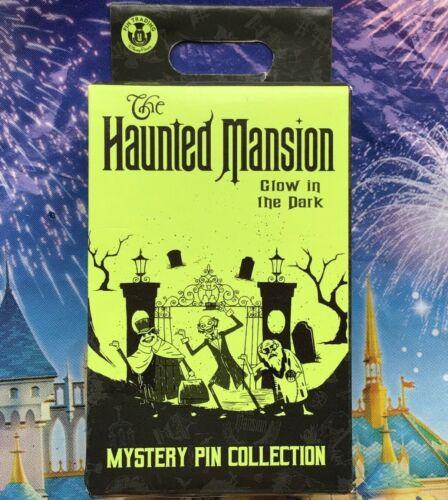 Disney Pin Haunted Mansion Parks 50th Anniversary 2 Pin Mystery Box SEALED