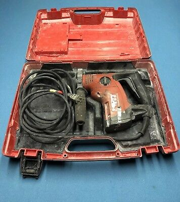 Hilti Te 6-s Rotary Hammer Drill With Storage Case