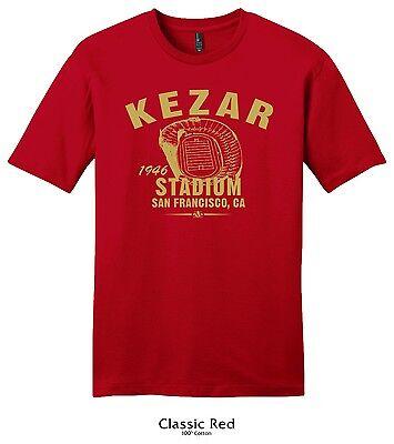 Kezar Stadium 1946 Football Tee Shirt   Nfl San Francisco 49Ers Vintage