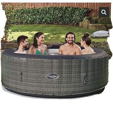 CleverSpa Matara 6 Person Round Heated Hot Tub BRAND NEW SEALED