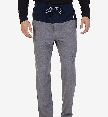 Nautica Men's Jaspe Banded Pajama Pants Size L