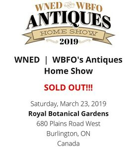 Antiques Home Show Ticket(s)