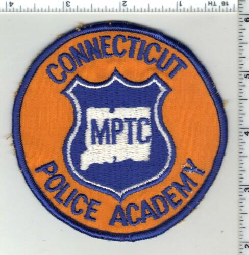 Police Academy MPTC (Connecticut) 1st Issue Shoulder Patch