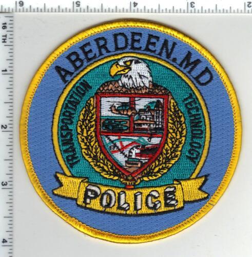 Aberdeen Police (Maryland) Uniform Take-Off Shoulder Patch