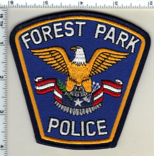 Forest Park Police (Minnesota) Shoulder Patch new from 1998