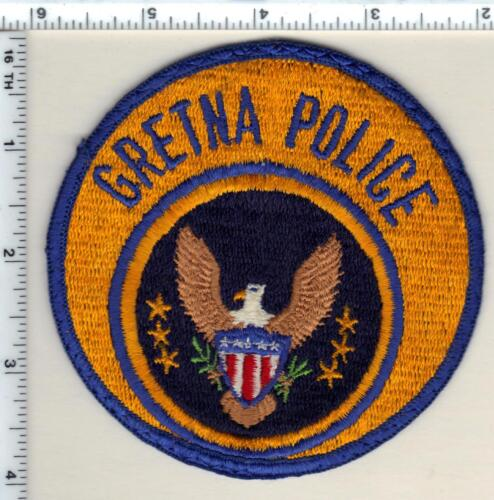 Gretna Police (Louisiana)  Shoulder Patch - new from 1990