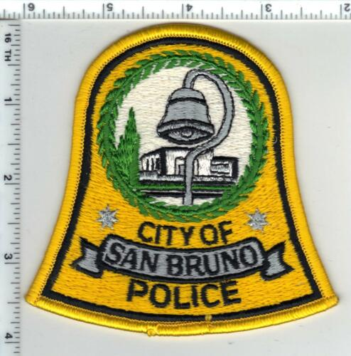 San Bruno Police (California) Shoulder Patch - new from the Early 1980