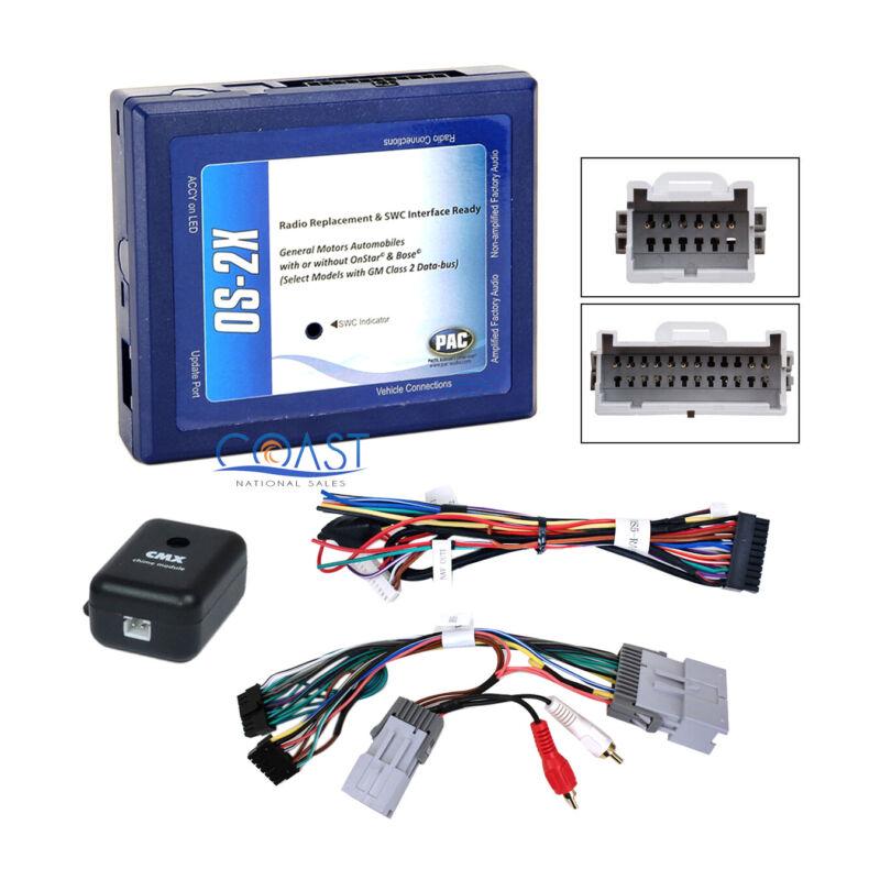 Car Radio Bose Onstar Interface Wiring Harness for 2000-up GM Chevrolet Pontiac