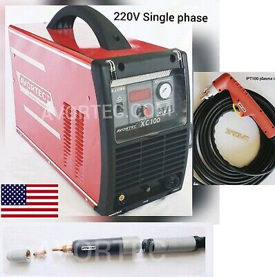 Avortec Xc 100amp 220v1phase Plasma Cutteript100 Hand Torch Iptm100 Cnc Torch