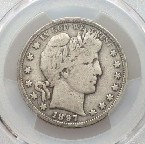 1897-S PCGS VG10 Barber Silver Half Dollar Much Better Date Nice Type Coin