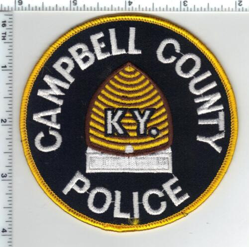 Cambell Police (Kentucky) Shoulder Patch - new from the 1980