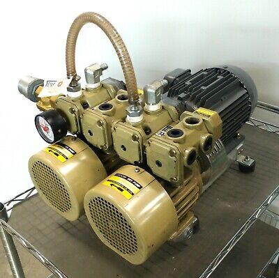 Orion Cbx25 Dry Vane Vacuum Pump 18in-hg 14.3cfm 2hp 34npt 3 220vac