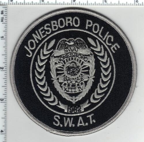 Jonesboro Police (Arkansas) SWAT Subdued Shoulder Patch new from the 1980
