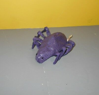 Russ Berrie & Co Halloween Spookies Purple Bean Plush 5.5
