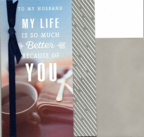 Happy Birthday Amazing Husband & Best Friend Hallmark Greeting Card