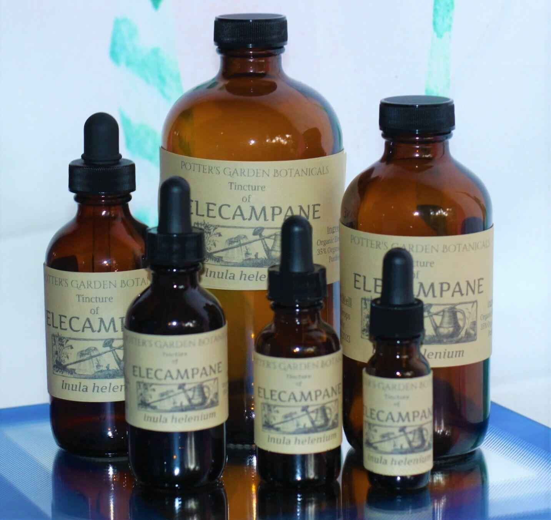 ELECAMPANE Tincture Breathing Respiratory Support Stimulant ORGANIC TCM Remedy
