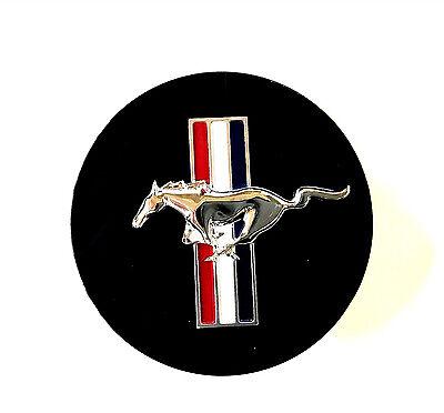 NEW OEM 1994-2004 Ford Mustang Black Pony & Flag 17