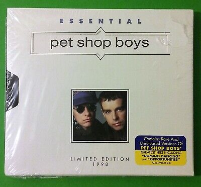 Essential Pet Shop Boys by Pet Shop Boys (CD - 1998) Limited -