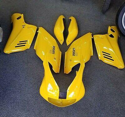 Ducati  Supersport Fairing Bodywork  Side Panels OEM Yellow