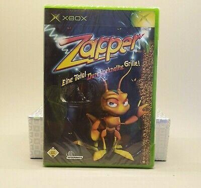 MICROSOFT XBOX CLASSIC Spiel # Zapper Eine total durchgeknallte Grille # OVP...