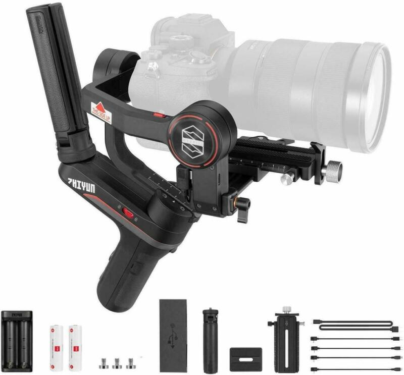 Used Zhiyun Weebill S 3-Axis Gimbal for Mirrorless & DSLR Cameras improved Motor