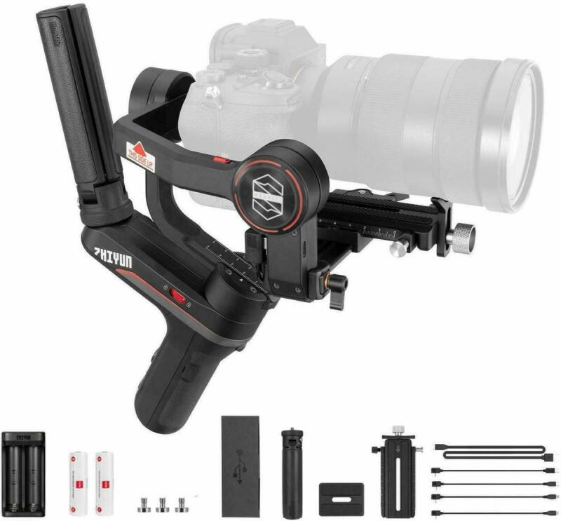 Zhiyun Weebill S 3-Axis Gimbal for Mirrorless & DSLR Cameras Motor Open Box