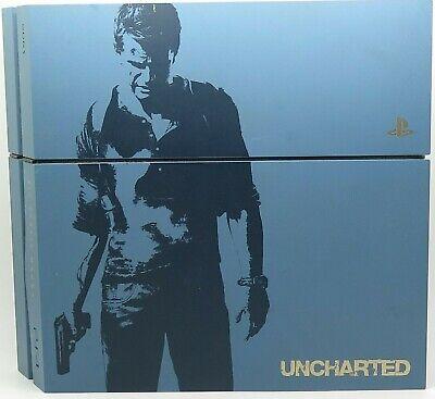 PS4 PlayStation 4 Uncharted Limited Edition Gray Blue Console  na sprzedaż  Wysyłka do Poland