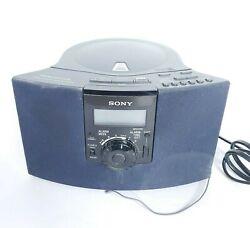 Sony Dream Machine ICF-CD823 AM FM CD Clock Radio Alarm Clock