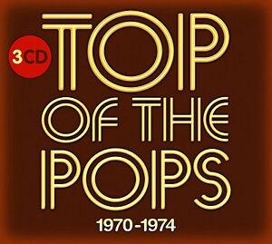 TOP OF THE POPS 1970 - 1974 3 CD SET - NEW RELEASE SEPTEMBER 2016